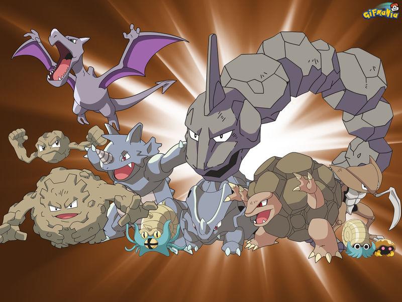 Pregunta 16,Tipo Roca : ¿Cual es el pokemon de tipo roca mas liviano?