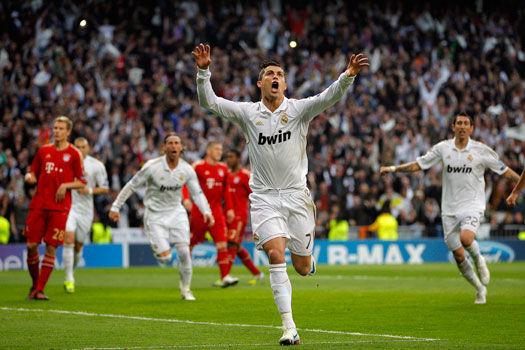 Vuelta de semifinales en Champions. ¿Quién asistió a Cristiano Ronaldo en el segundo gol del encuentro?
