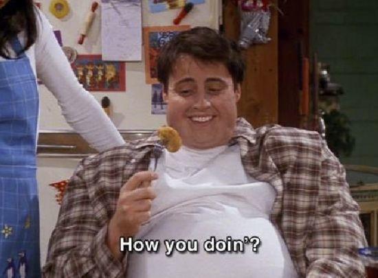 ¿Cuál es la comida favorita de Joey?