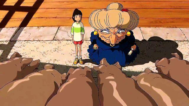 Para salvar a sus padres Chihiro debía escoger a los que creía que eran de todos estos cerdos... ¿Cuáles escogió?
