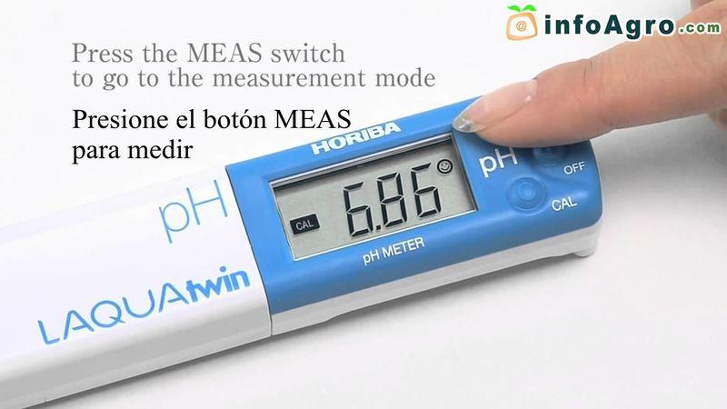El pH es una medida de :