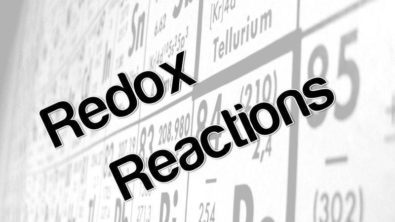 En una reacción tipo redox: