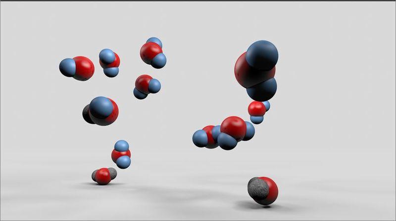 ¿Qué tipo de interacción existe entre dos moléculas de agua?