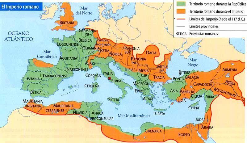 25867 - ¿Cuál sería el equipo de este imperio? (PARTE 2 IMPERIO ROMANO)