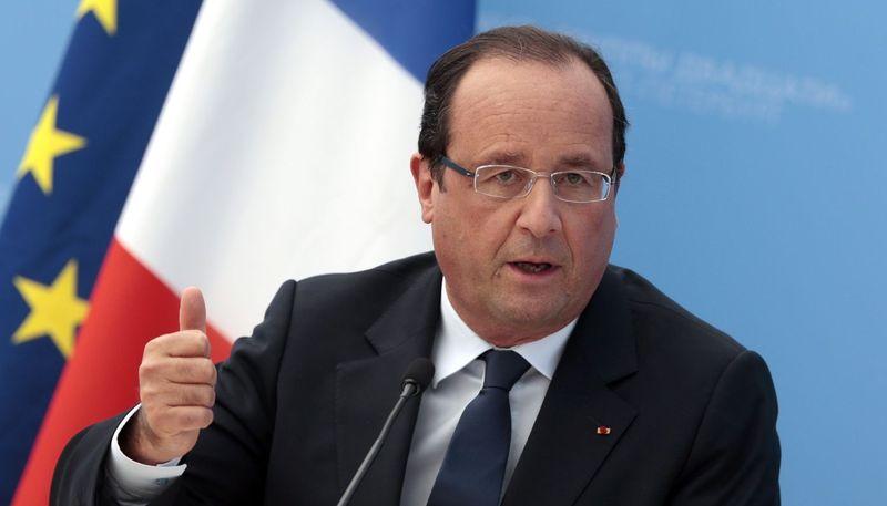 ¿Y de Francois Hollande? (Francia)