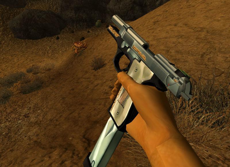 ¿y su arma?