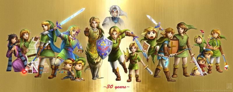 ¿Cuál fue tu juego favorito de The Legend of Zelda?