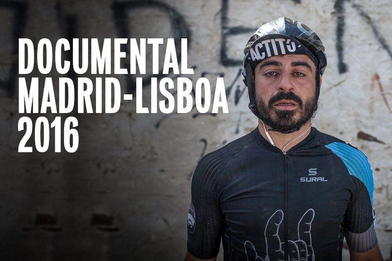 ¿Cuántas horas estuvo encima de la bici para completar la Madrid-Lisboa 2016?