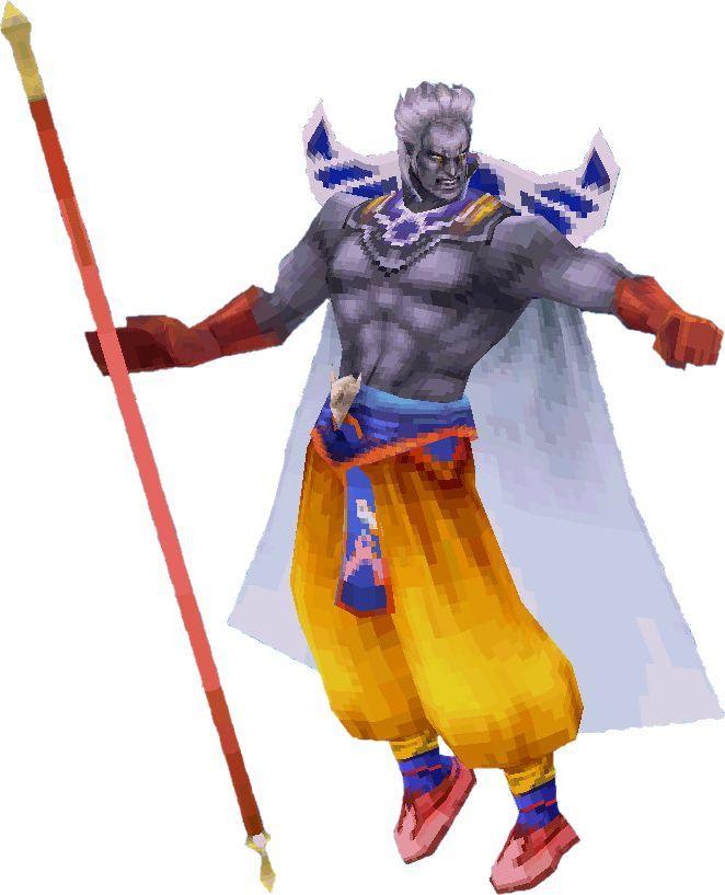 Tras morir el gran mago Noah, entrega sus poderes a sus tres discípulos Zande, Doga y Une. ¿Cuáles fueron, respectivamente?