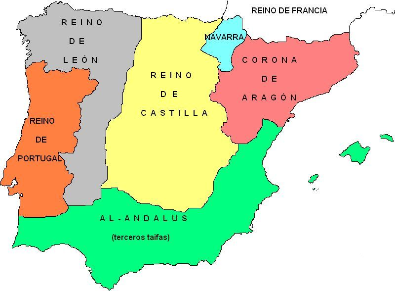 Si vivieses en este año (1250), ¿en que reino vivirías?