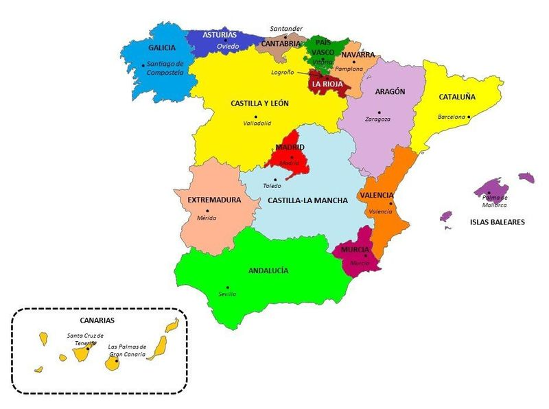 ¿En que Comunidad Autónoma naciste? (Si he puesto a varias juntas es por falta de espacio)