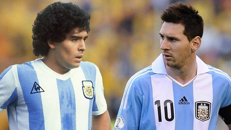 ¿A quién prefieres? ¿A Maradona o a Messi?