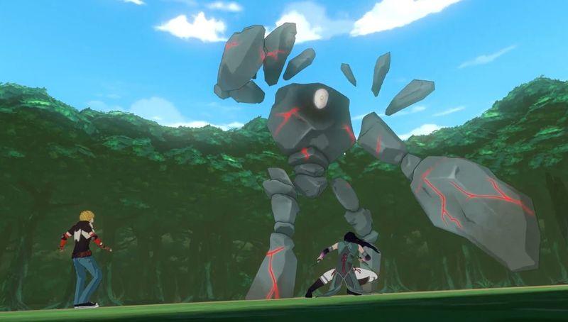 ¿Cómo se llama el Grimm contra el que el equipo RNJR (o JNRR) lucha en el capítulo 1?