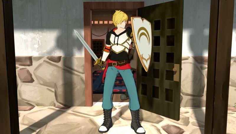 ¿Qué tienen de especial las nuevas modificaciones de la espada y el escudo de Jaune?