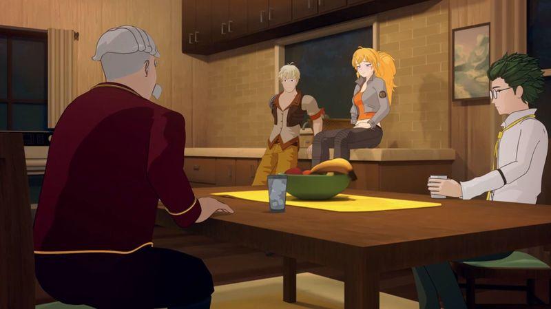 En el capítulo 4 Yang aún no se ha probado su brazo robótico. ¿Por qué?