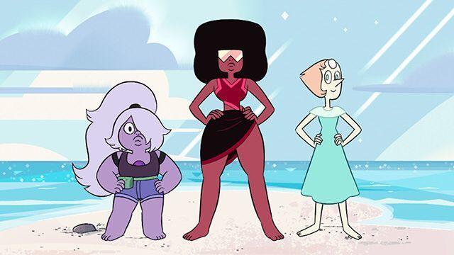 ¿Quiénes forman las gemas de cristal? (al comienzo de la serie)