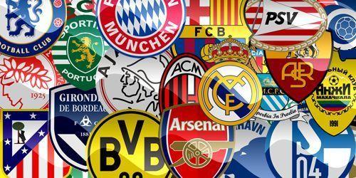 Para crear el escudo de tu club de fútbol, ¿te inspirarías en algunos de estos escudos de fútbol conocidos?