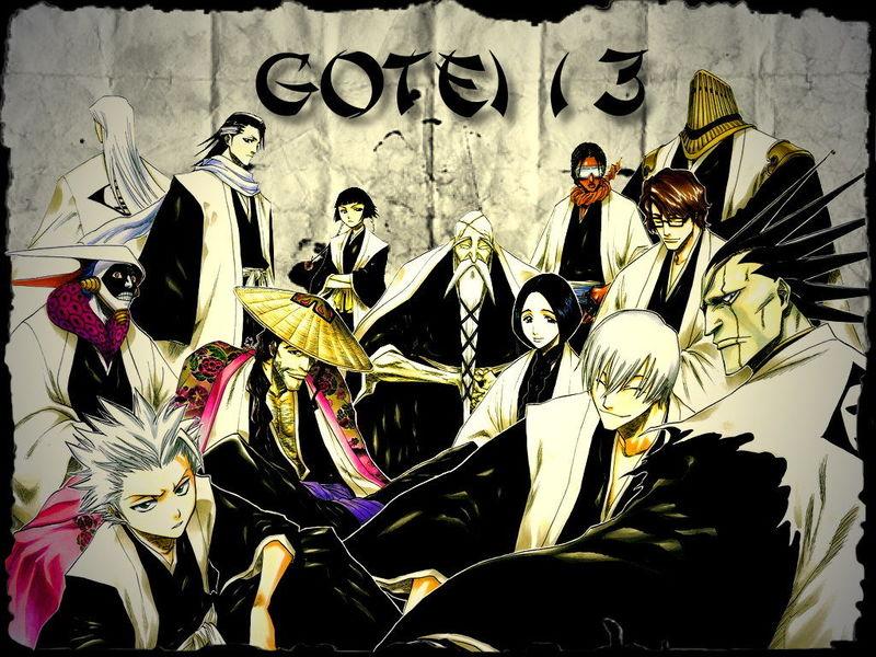 26184 - ¿A qué escuadrón del Gotei 13 pertenecerías? [Bleach]