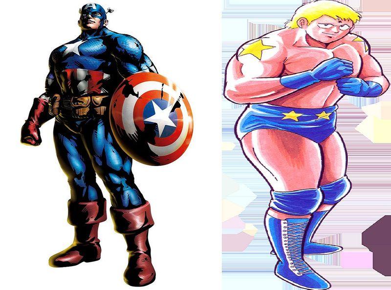 ¿Capitán América sin escudo o Terryman sin poder crecer de tamaño siendo un combate cuerpo a cuerpo?