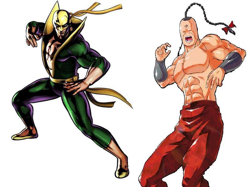 ¿Cuál de estos 2 expertos en artes marciales ganaría?¿Iron Fist o Rammenman?