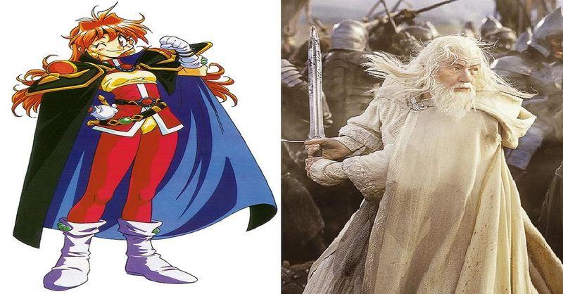 ¿Cuál de estos 2 magos y guerreros ganaría?¿Lina Inverse o Gandalf el Blanco?