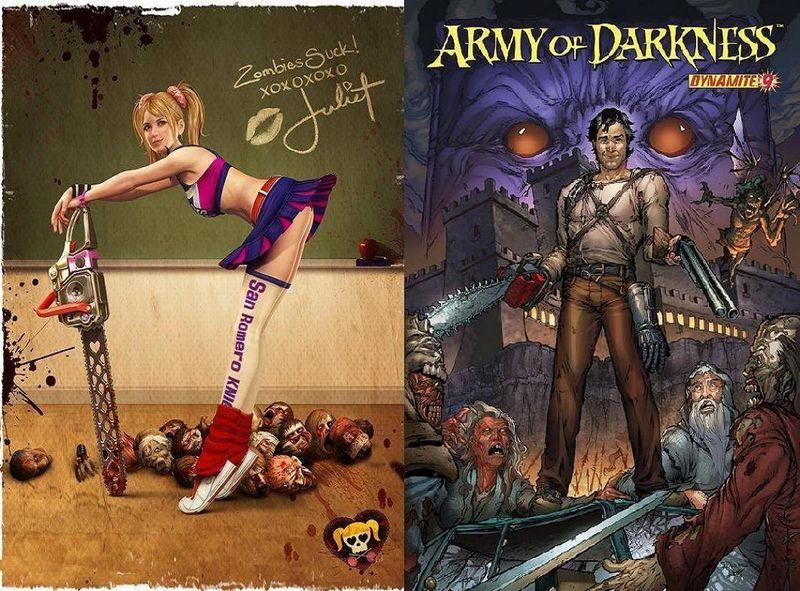 ¿Cuál de estos 2 cazadores de muertos vivientes ganaría?¿Juliet Starling o Ash del Ejército de las Tinieblas?