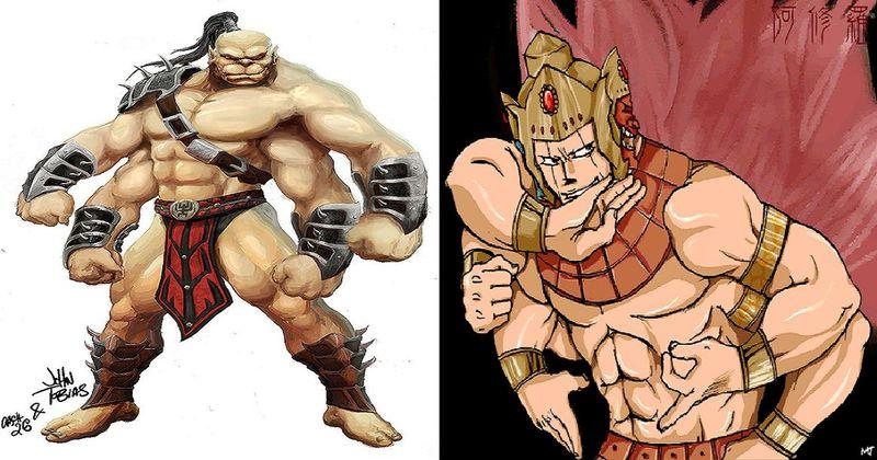 ¿Cuál de estos guerreros con múltiples brazos ganaría? ¿Goro o Ashuraman?