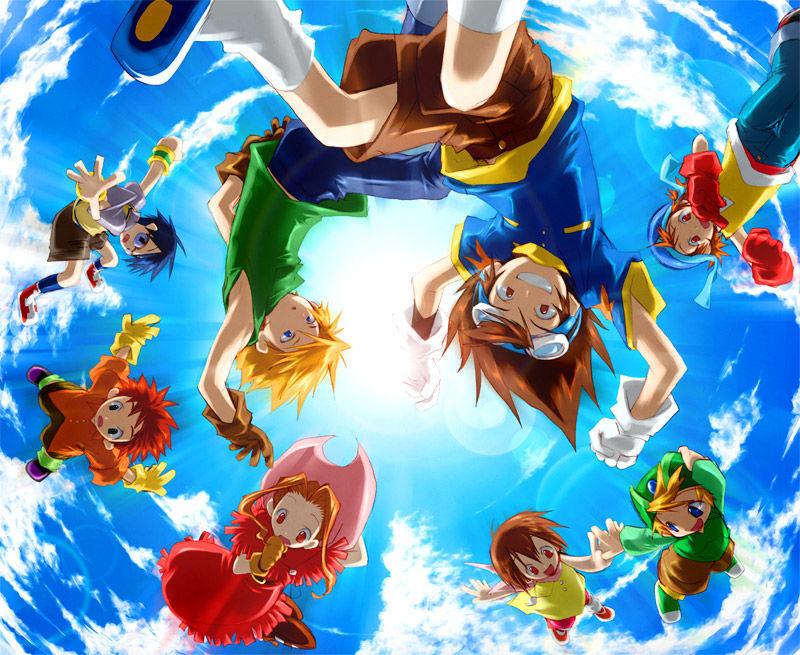 ¿Cuál es el orden de las sagas de Digimon Adventure?