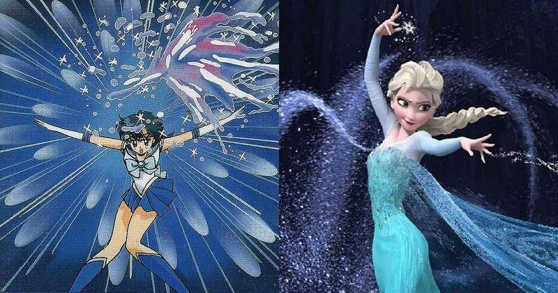 ¿Cuál de estas 2 mujeres que controla el hielo ganaría en un combate? ¿Sailor Mercury o la Princesa Elsa?