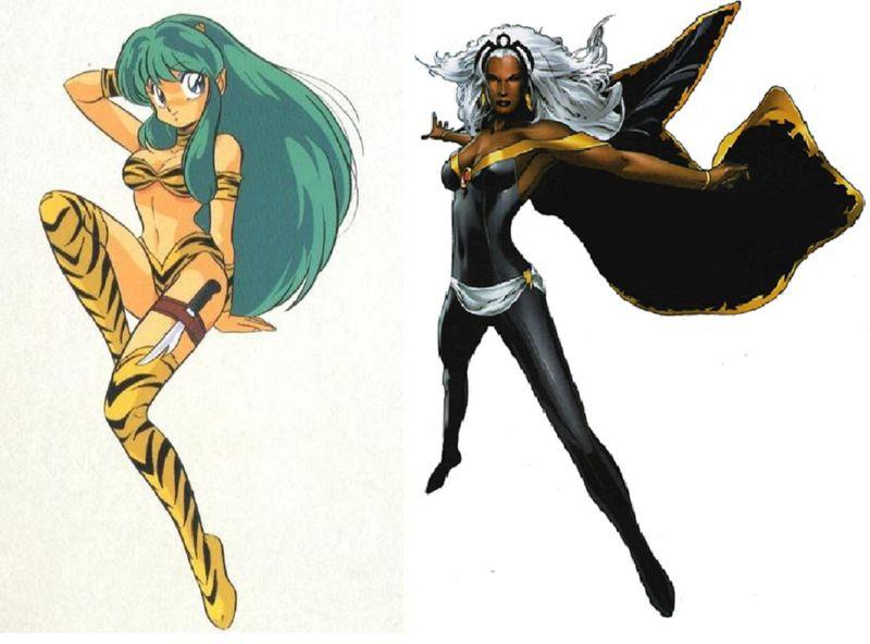 ¿Cuál de estas 2 mujeres que vuelan y echan rayos ganaría?¿Lum o Storm?