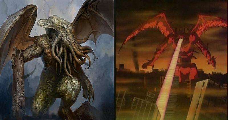 ¿Cuál de estos 2 dioses de destrucción ganaría?¿Cthulhu o Chojin?