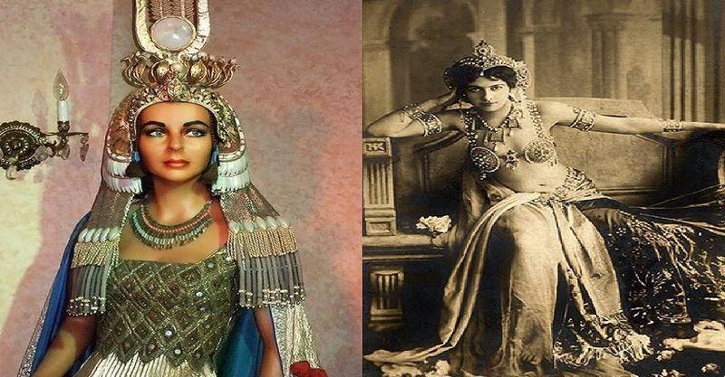 ¿Cuál de estas 2 mujeres fue más femme fatale?¿Cleopatra o Mata Hari?