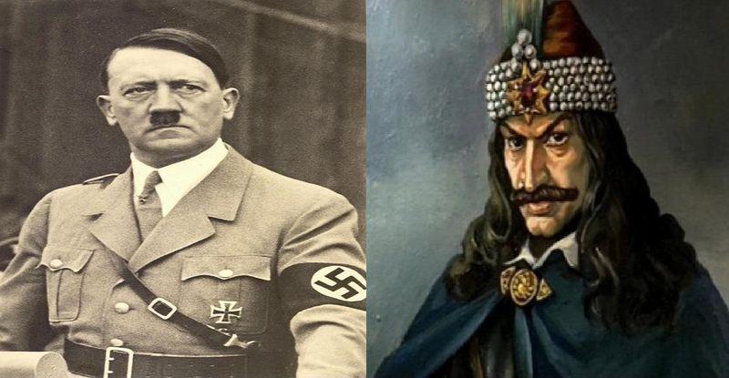¿Cuál de estos dictadores es el más cruel?¿Adolf Hitler o Vlad Tepes?