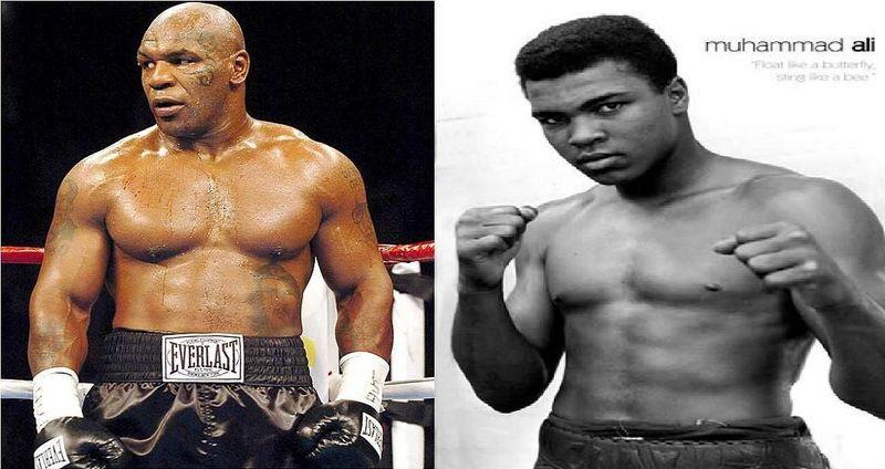 ¿Cuál de estos 2 legendarios boxeadores ganaría?¿Myke Tyson o Muhammad Alí?