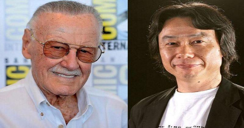 ¿Quién ha sido más importante para su empresa?Stan Lee para Marvel o Shigeru Miyamoto para Nintendo