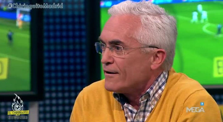 El periodista de marca Paco García Caridad vota al...