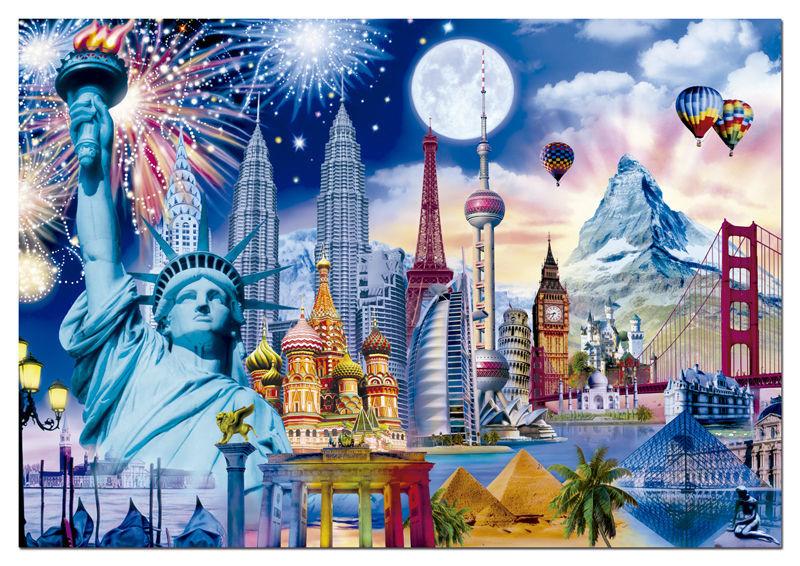 26347 - ¿Qué altura tienen estas famosas construcciones del mundo?
