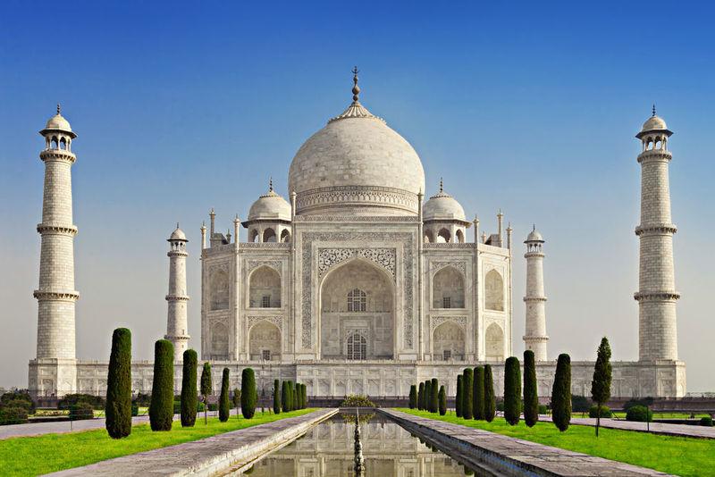 El Taj Mahal, Agra, India.