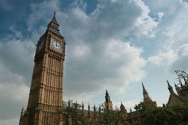El Big Ben, Londres, Reino Unido.