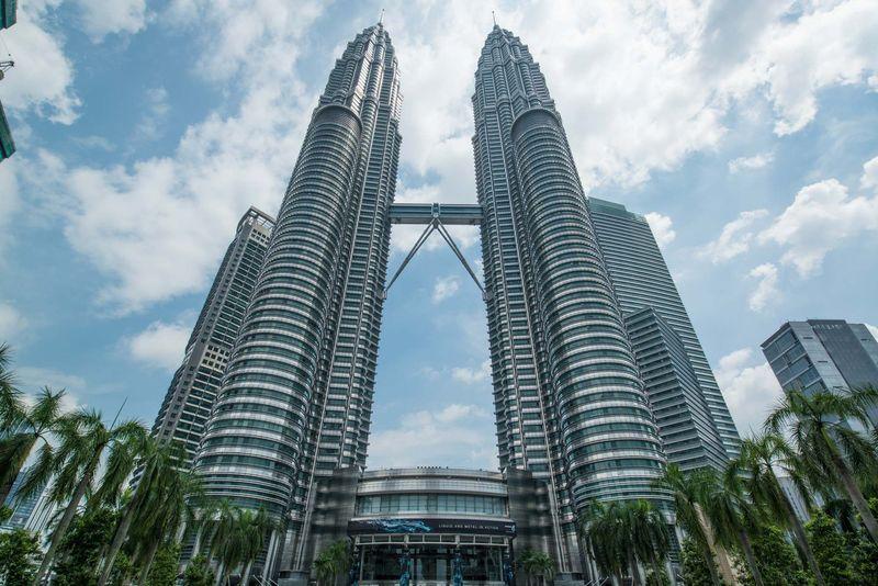 Las Torres Petronas, Kuala Lumpur, Malasia.