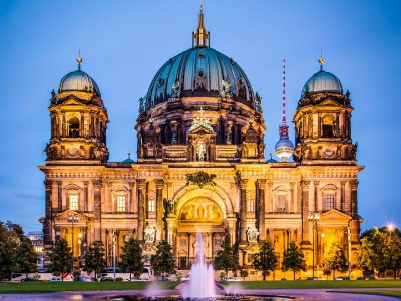 La Catedral de Berlín, Alemania.