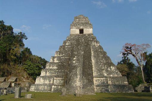 El Templo del Gran Jaguar, Petén, Guatemala.