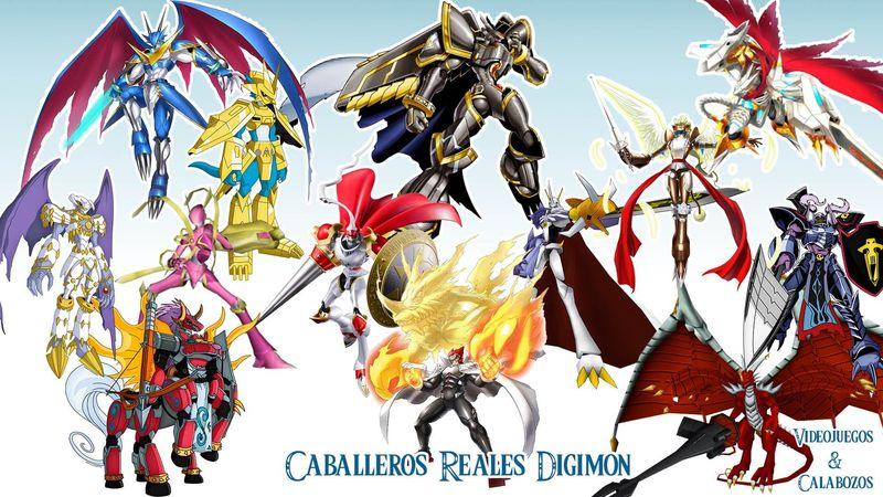 ¿En quiénes se basan los Royal Knights o Caballeros Reales?