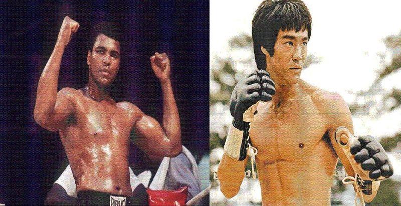 ¿Quién ganaría en un combate?¿Muhammad Alí o Bruce Lee?