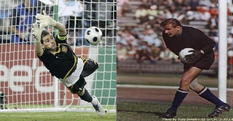 ¿Quién es mejor portero?¿Iker Casillas (5 premios mejor portero del mundo) o Lev Yashin(Balón de oro)?