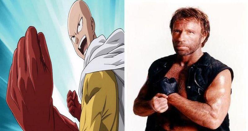 ¿Quién ganaría en un combate?¿Saitama o Chuck Norris?
