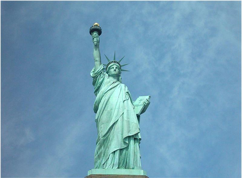 La Estatua de la Libertad, Nueva York, EEUU.