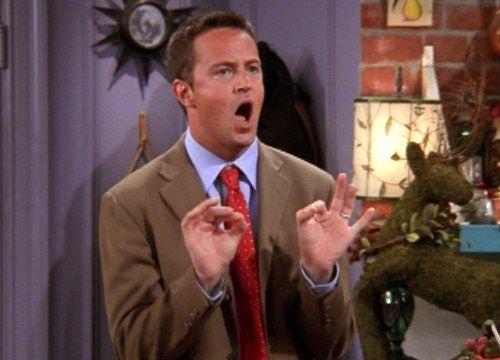 ¿Qué pide Chandler al ver a Rachel vestida de novia?
