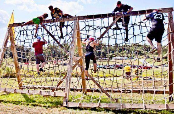 Hora de hacer ejercicio: ¿Como pasarías este obstáculo?