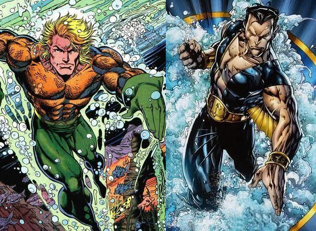 ¿Aquaman (DC) o Namor (Marvel)?